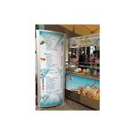 Haas Gastronomieservice auf Usedom - Werbepylon 800 x 2000 mm (2013)