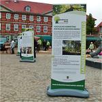 Landeszentrum Wald Sachen-Anhalt - Roll Up Outdoor mit digital bedruckten PVC Vollplanen (2015)