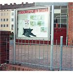 Tierschutzverein Dessau-Roßlau - Außenschaukasten mit Standpfosten