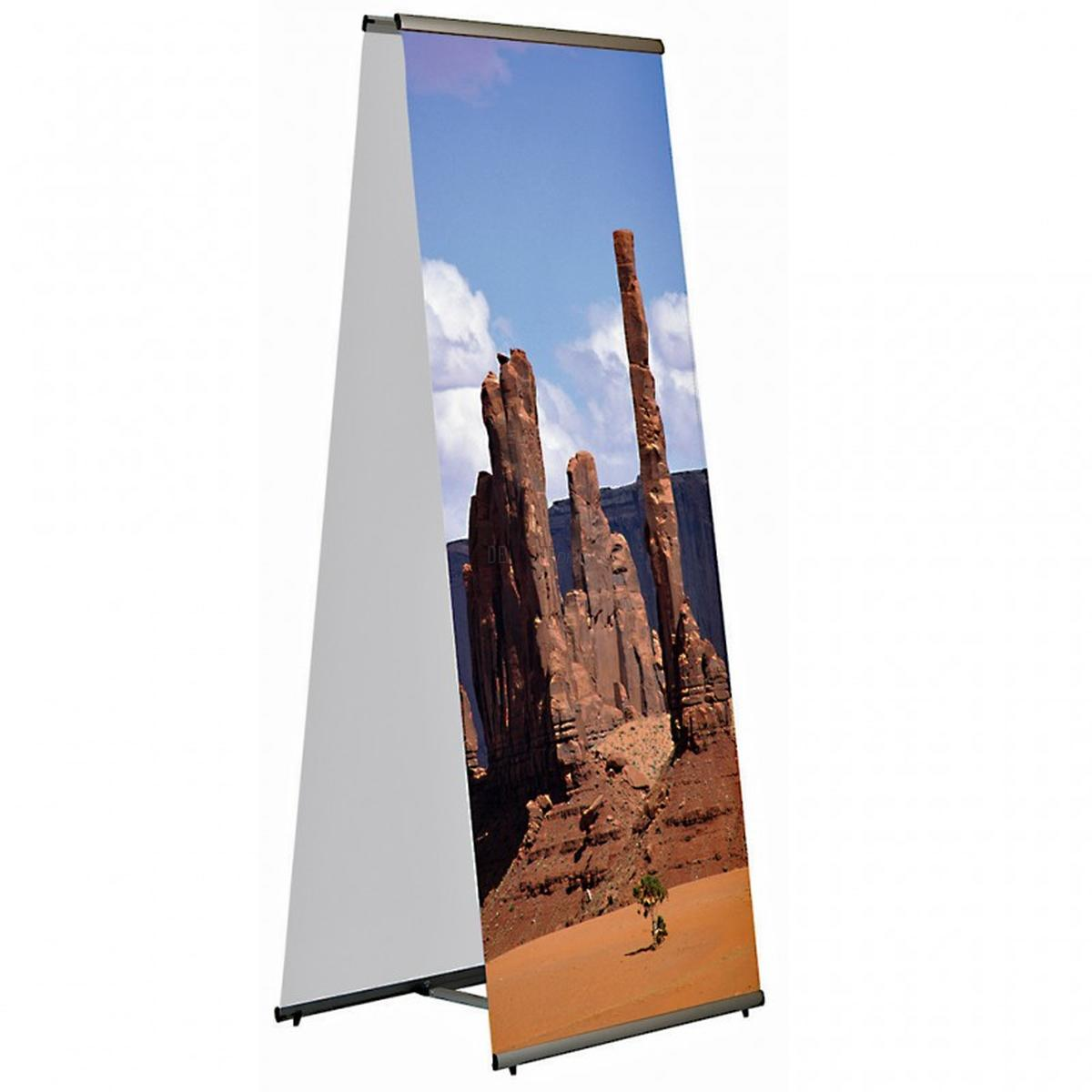 L-Banner Display Snapy 1000 x 2000 Twin