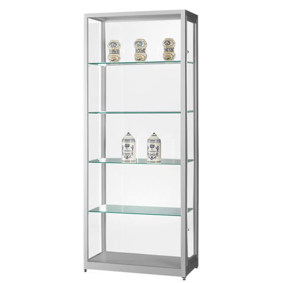 Display Cabinet Porto Dustproof Illuminated Delight Displays